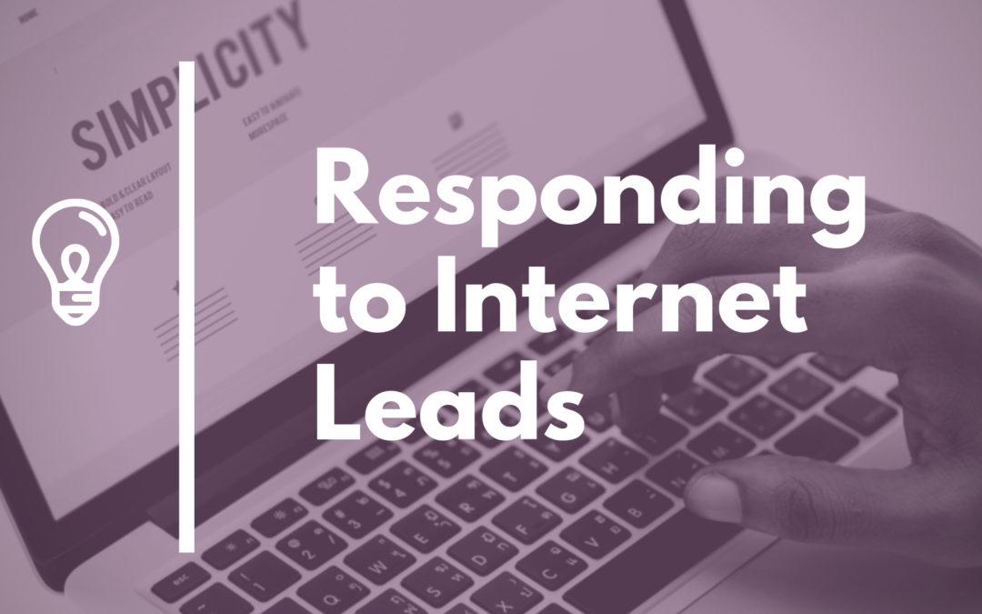 Internet Lead Response Best Practices