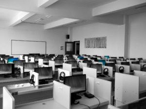 BDC call center cubicles