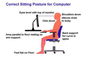 BDC rep sitting at a desk