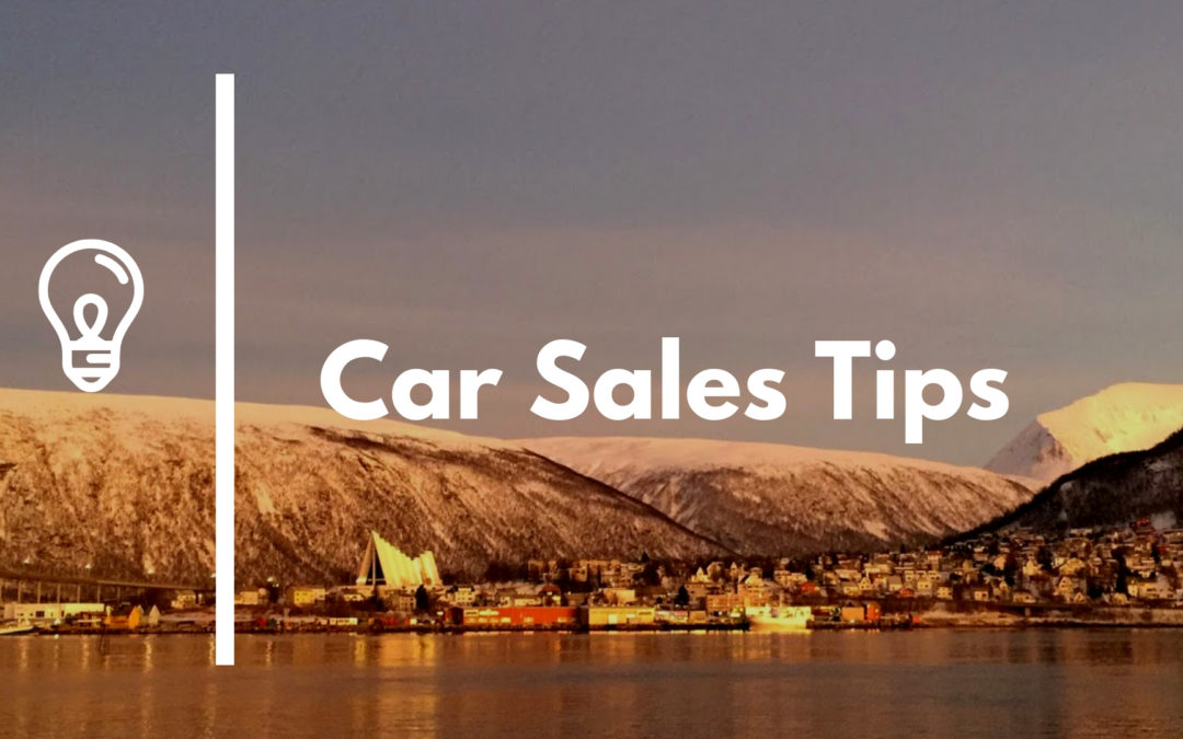 Car Sales Tips Overcoming Objections