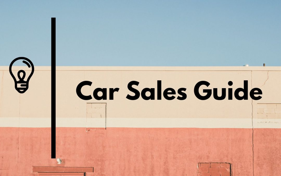 Auto Sales Training | Mastering Sales Guide
