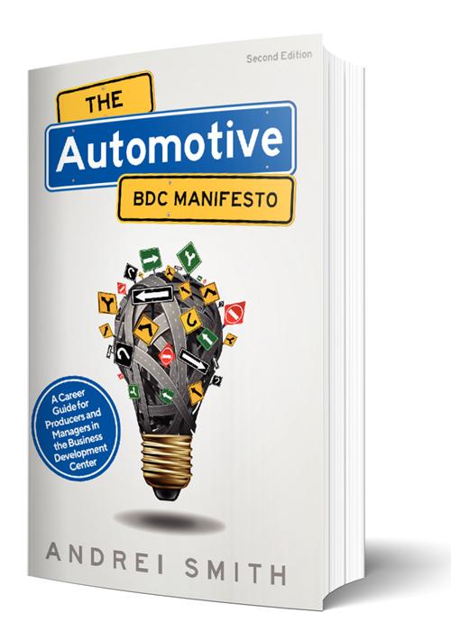 The Automotive BDC Manifesto Book Cover