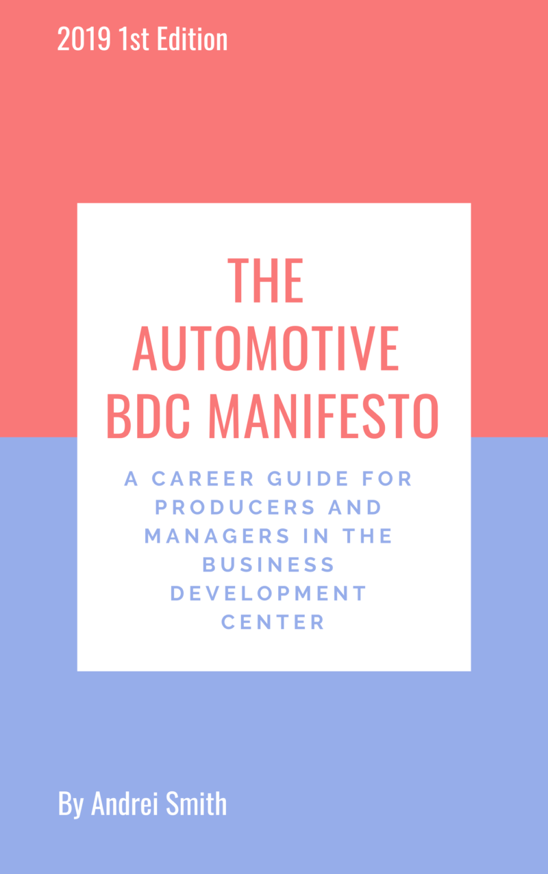 Sign Up To Access Chapter 8 Templates Of The Automotive BDC Manifesto